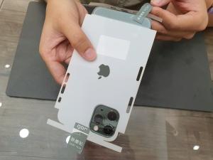 Dán PPF NHÁM mặt sau và viền máy iPhone 11 Seires